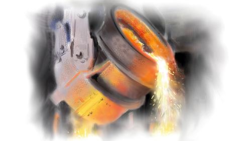 Steel Making Plant